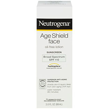 5. Neutrogena Age Shield Face Oil-Free Lotion Sunscreen