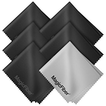 3. (6 Pack) MagicFiber Microfiber Cleaning Cloths