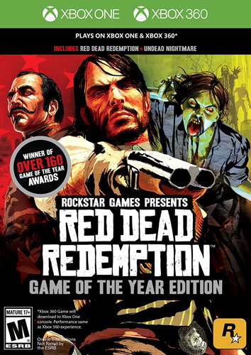 9. Red Dead Redemption Xbox one and Xbox 360