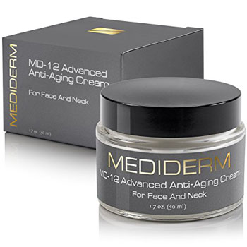 8. Mediderm MD-12 Anti-Wrinkle Neck Lift Cream