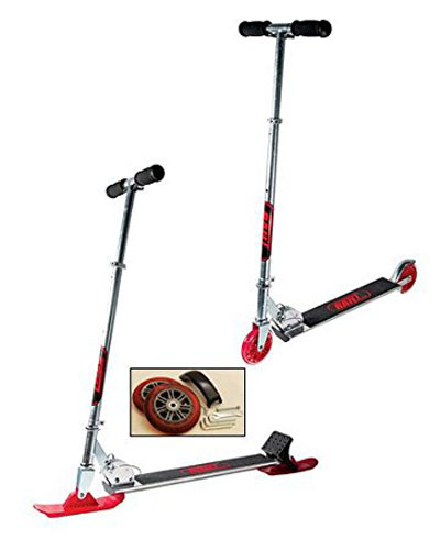 6. RAILZ Adult Street & Snow Scooter