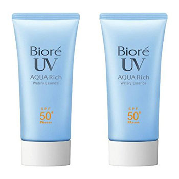 10. Biore Sarasara UV Aqua Rich Watery Essence Sunscreen