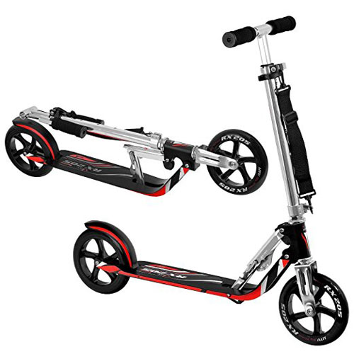8. Hudora RX-205 LUX Big Wheel Fold Kick Scooter