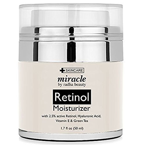8. Radha Beauty Retinol Moisturizer Cream
