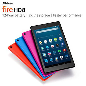 3. All-New Fire HD 8 Tablet, 8
