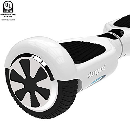 5. Skque - UL2272 (MAX 220 lbs.) Self Balancing Scooter / Hover board,