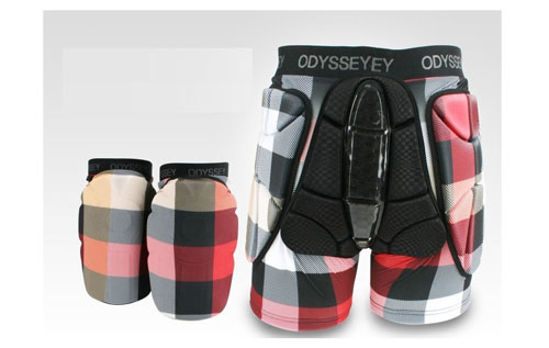3. Odyssey Premium Snowboard Protection Equipment Set Hip Knee Check S, M, L, XL