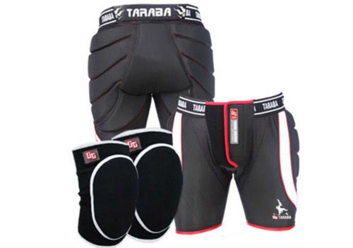 8. Tarba Performance Elevated Monster Snowboard Protection Equipment Set Hip+Knee+Mesh Storage M, L, XL