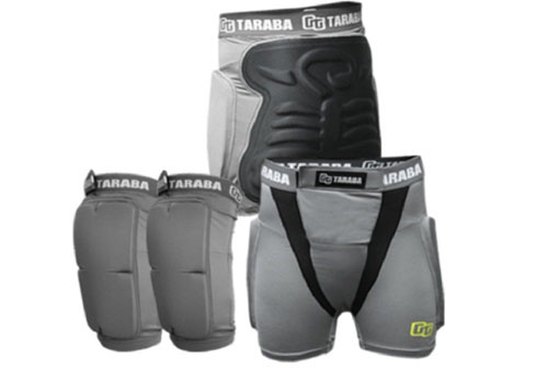 7. Tarba Performance Elevated Scorpions Snowboard Protection Equipment Set Hip+Knee+Mesh Storage M, L