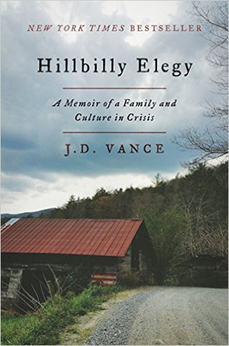 2. Hillbilly Elegy: A Memoir of a Family and Culture in Crisis
