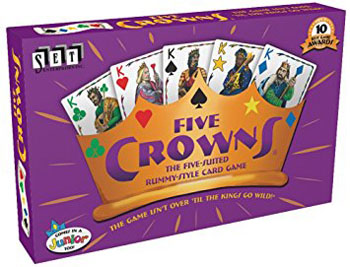 7. Five Crowns Card Game