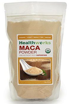 2. Healthworks Maca Powder Raw Organic