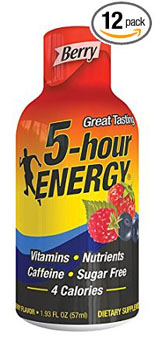 5. 5 Hour Energy Drink Shot, Berry