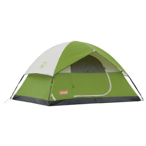 1. Green and Navy color Sundome Tent