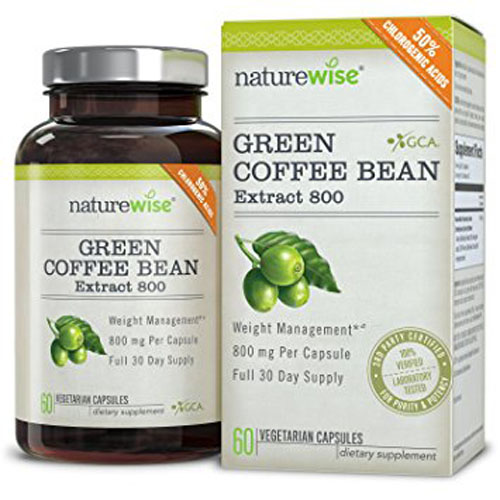 3. NatureWise Green Coffee Bean Extract