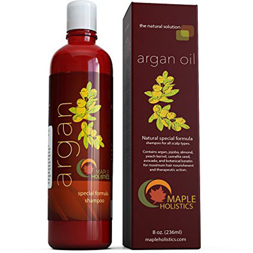 2. Maple Holistics Argan Oil Shampoo