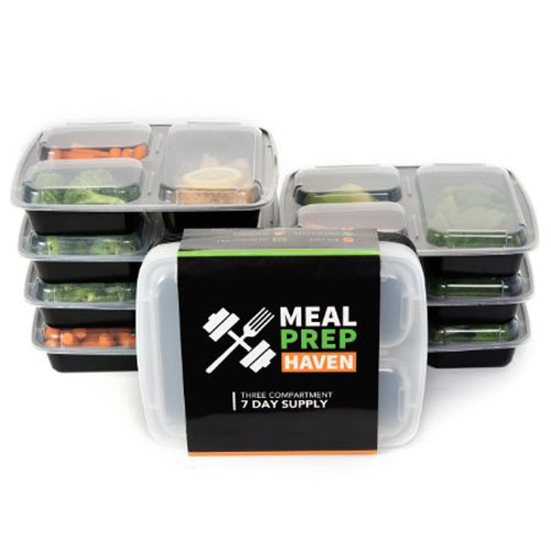 9. Haven Compartment Food Containers