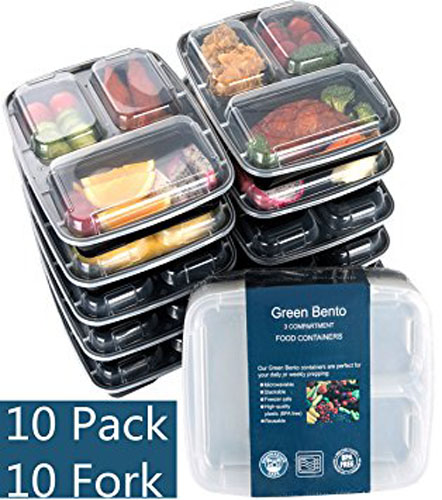 2. Meal Food Storage Containers