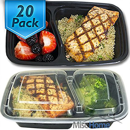 6. Compartment Meal Prep Containers