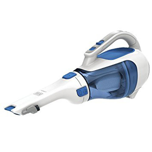 5. Black & Decker HHVI320JR02 Dustbuster Cordless Lithium Hand Vacuum, Magic Blue