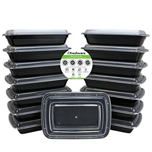 5. Freshwater Compartment Bento Storage Containers