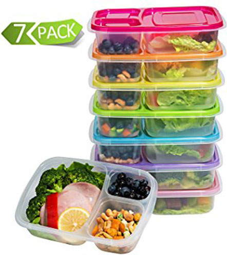 7. Lunch Boxes Containers