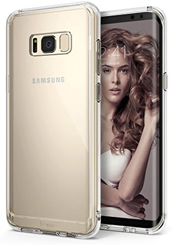 1. Ringke Galaxy S8 Case, Fusion
