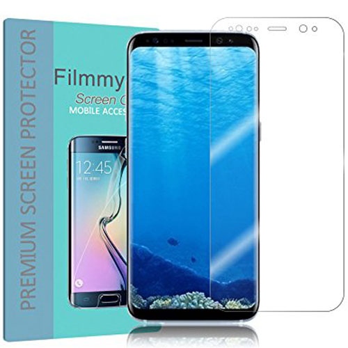 9. Filmmy Galaxy s8 screen protector