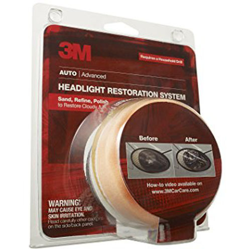 9. Headlight Lens Restoration System