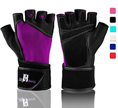 7. RIMSports weight lifting gloves