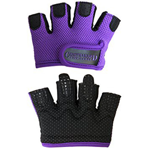 6. contraband pink lable 5537 women's micro weight lifting gloves