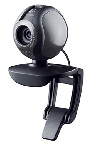3. Logitech 2 MP HD Webcam C600