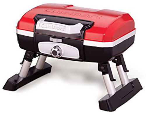 5. Cuisinart CGG-180T Petit Gourmet Portable Tabletop Gas Grill