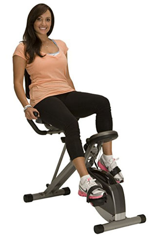8. Exerpeutic 400XL Folding Recumbent Bike
