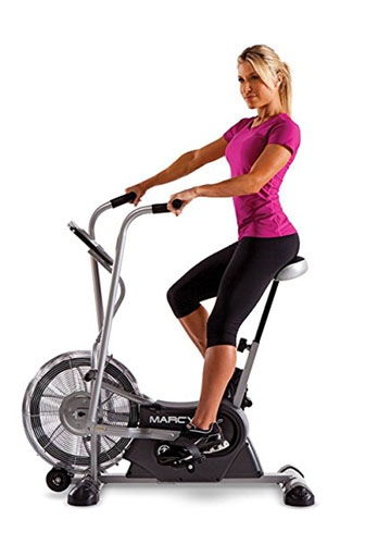 5. Marcy Exercise Upright Fan Bike