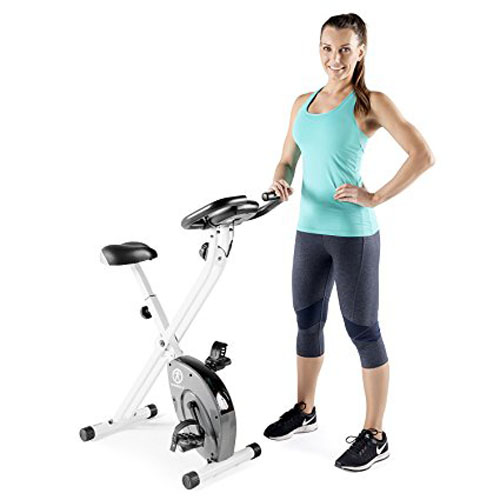 7. Marcy Foldable Exercise Bike