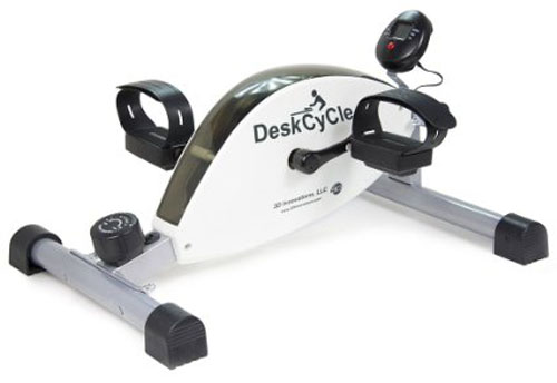 10. DeskCycle Desk Exercise Bike Pedal Exerciser