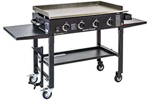 10. Blackstone 36 inch Outdoor Flat Top Gas Grill Griddle Station - 4-burner