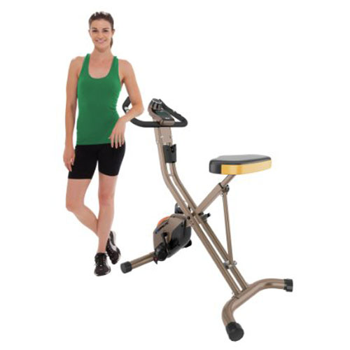 6. Exerpeutic GOLD 500 XLS Foldable Upright Bike