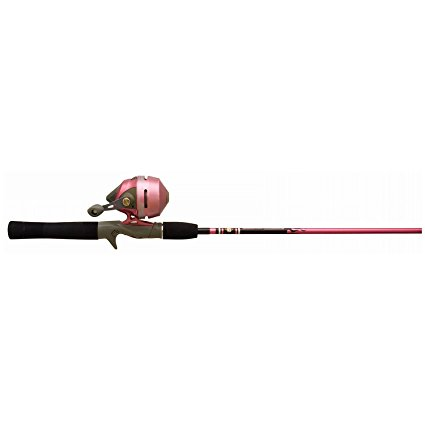 3. Zebco Ladies Spincast Fishing Rod