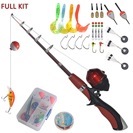 5. Portable Mini Fishing Rod