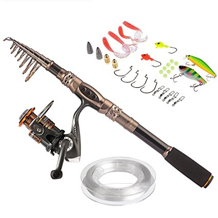 1. Sea Saltwater Freshwater Fishing Rod