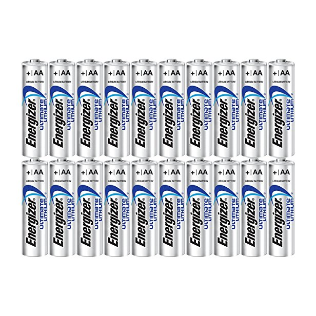 10. Energizer Ultimate Lithium AA Size Batteries