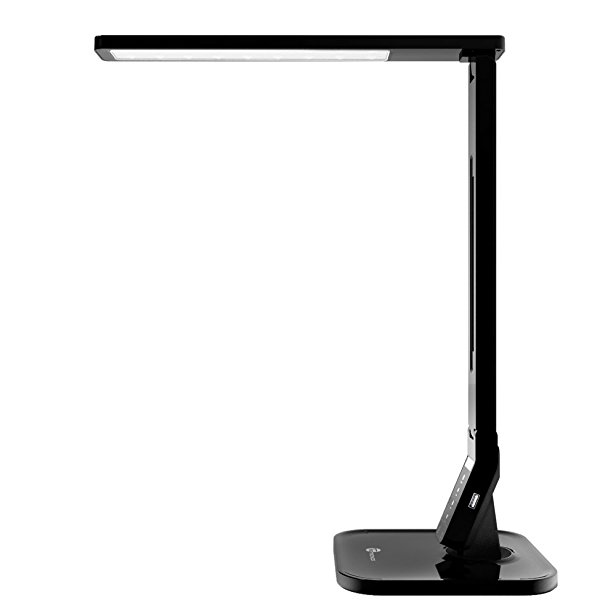 2. TaoTronics 14W LED Desk Lamp with USB Charging Port