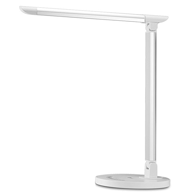 1. TaoTronics LED Desk Lamp, Eye-caring Table Lamps