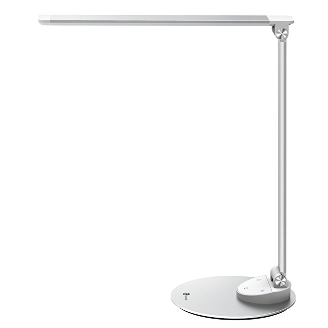 7. TaoTronics LED Desk Lamp with USB Charging Port