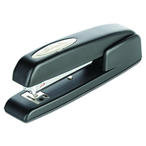 6. Swingline Stapler, 747, Business, Manual, 25 Sheet Capacity, Desktop, Antimicrobial, Black