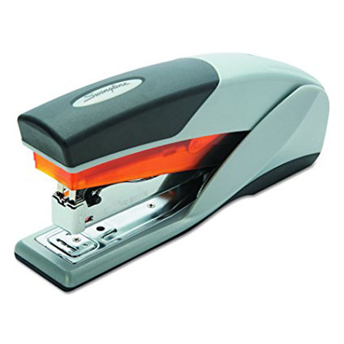 3. Swingline Stapler, 25 Sheets Capacity, Gray/Orange