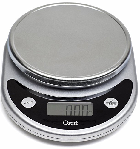 3. Ozeri Pronto Digital Multifunction Kitchen and Food Scale