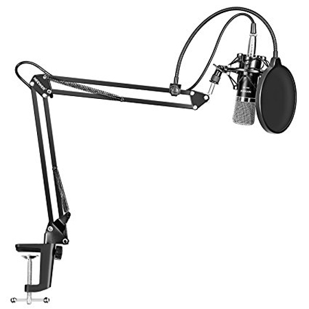 10. Neewer NW-700 Professional Studio Broadcasting Recording Condenser Microphone